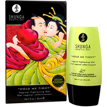 Shunga Hold Me Tight, 30 мл Вагинальный крем для сужения shunga sensation 250 мл массажное масло лаванда