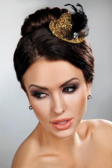 Livia Corsetti Mini Top Hat 12, золотая Миниатюрная шляпка erasexa фаллоимитатор рыцарь коричневый большого размера