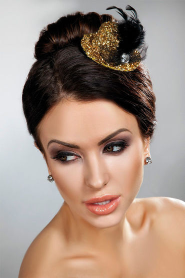 Livia Corsetti Mini Top Hat 12, золотая Миниатюрная шляпка vitalis stimulation