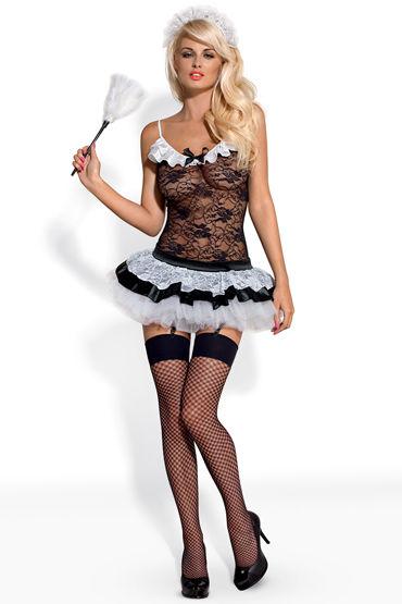 Obsessive Housemaid Костюм сексуальной горничной костюм горничная obsessive housemaid размер l xl